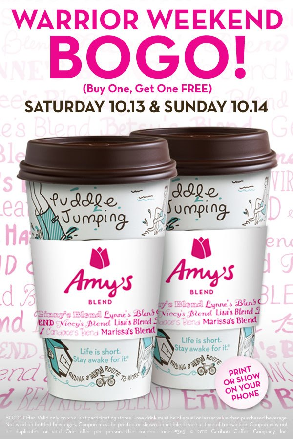 304325 10151273208070953 2124212460 n Caribou Coffee: Buy One Get One Free Coffee (10/13 and 10/14)
