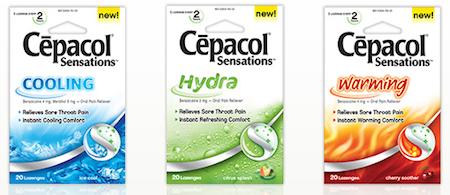 Cepacol sensations cooling