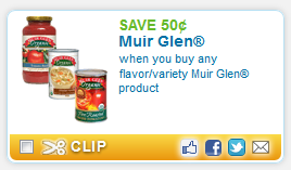 Muir Round Up of Organic & Natural Deals   October 3