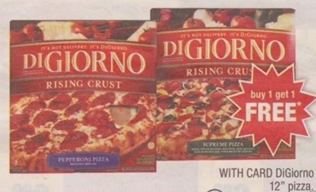 graphic relating to Digiorno Pizza Coupon Printable called Warm* DiGiorno Pizza Printable Discount codes for Get 2 Attain A single