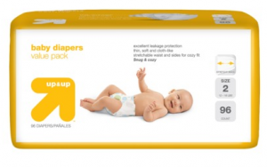 Screen Shot 2012 10 11 at 7.25.44 AM 300x188 up&up Baby Diapers as low as 10¢ per diapers Shipped