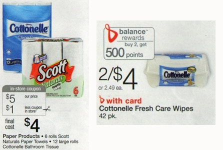 Walgreens Cottonelle Deal October 2012 New Cottonelle Coupons + Walgreens Deals