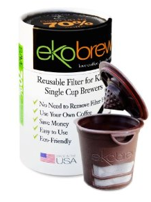 Amazon: Cheap Ekobrew Refillable Cups for Keurig Brewer