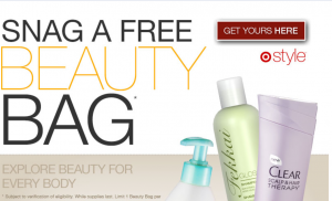beauty Target: FREE Fall Beauty Bag (coupons and samples)