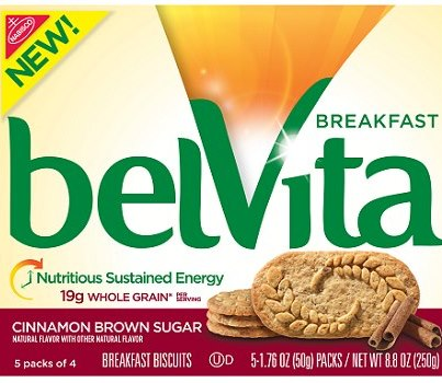 free box of belvita
