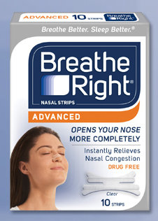 breathe FREE Sample of Breathe Right Nasal Strips (1st 25,000)