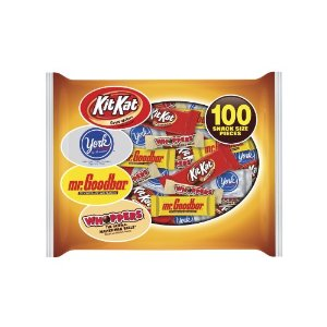 candy Halloween Snack Size Assortment Bag 12¢ Each