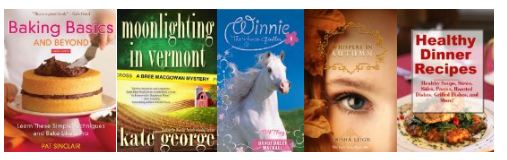 ebooks Free Kindle Books: Baking Basics, Moonlight in Vermont, Winnie, Whispers in Autumn and Healthy Dinners
