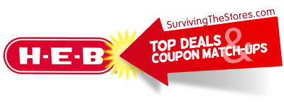 heb coupon match ups for the week of 101712 102312 HEB Coupon Match ups For The Week Of 10/17/12 – 10/23/12!