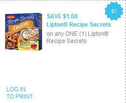 lipton2 Lipton Recipe Secrets Coupon + Store Deals