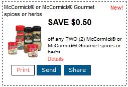 mccormick printable coupons Printable Coupons: McCormick, Kashi, Right Guard, Jimmy Deand and More