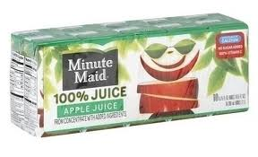 Minute Maid Juice Box coupon: $0.85/1