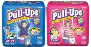 pull ups Target: Pull Ups Jumbo Packs For $5.49
