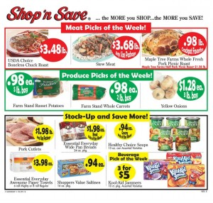 shop n save weekly ad deals 1028 113 Shop N Save Weekly Ad Deals 10/28 – 11/3