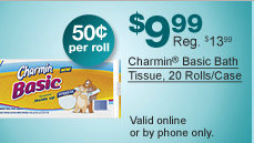staples2 Staples: Bounty Paper Towel and Charmin Basic Bath Tissue Deals Shipped FREE!