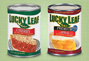 752 lucky leaf pie fillings 2 11 hannaford $ .75/2 Lucky Leaf Pie Fillings = $2.11 @ Hannaford