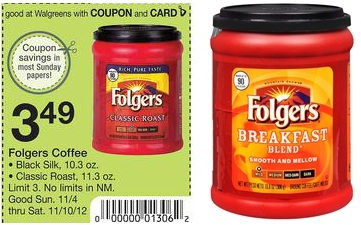 Folgers-Coupon