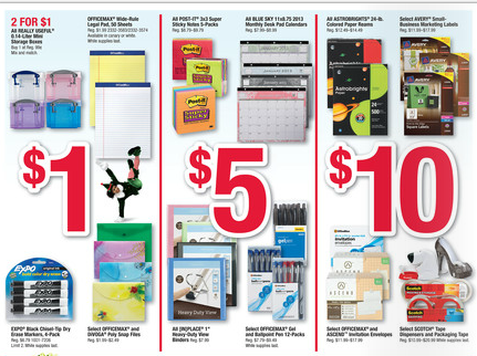 OfficeMax Deals for 11/04-11/10