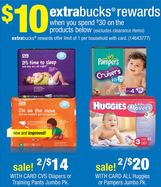 Screen Shot 2012 11 14 at 3.57.05 PM $3 off Huggies Diapers Printable Coupons + CVS Deal (Pay as low as $3.66 per Pack!)