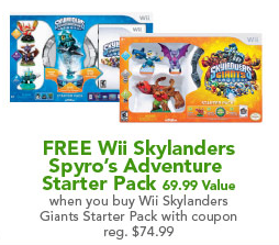 Screen Shot 2012 11 17 at 7.44.13 AM1 Today Only at Toys R Us:  Free Skylanders Starter Pack When you Buy Skylander Giant Pack ($69.99 Value!)