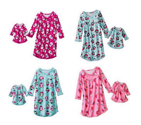Screen Shot 2012 11 25 at 10.51.42 AM Jumping Beans Coordinating Girl and Doll Nightgowns for as low as $7.70 Shipped