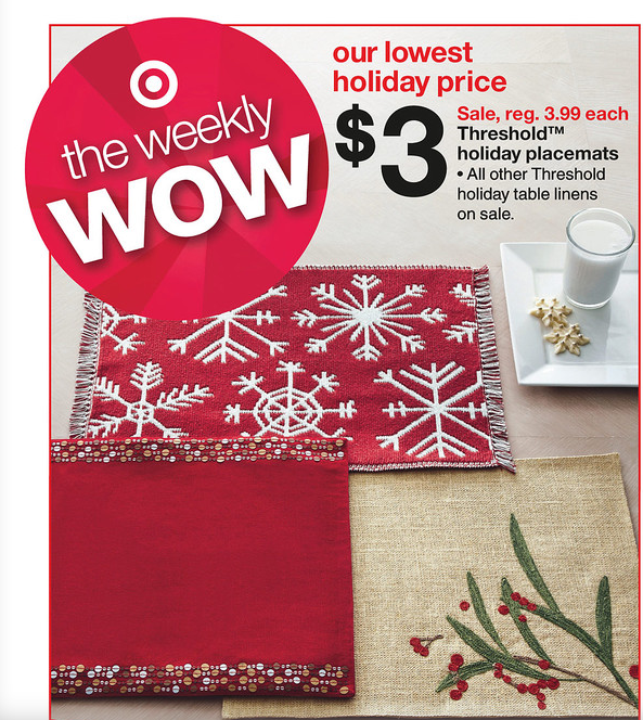 Screen Shot 2012 11 25 at 6.29.49 PM Target: Free Holiday Placemats