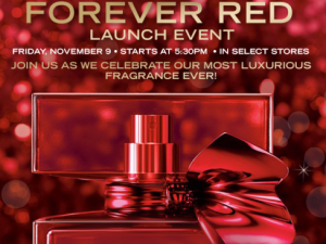 bbworks 300x225 Bath & Body Works Event: FREE gift box of Forever Red Chocolate Truffles
