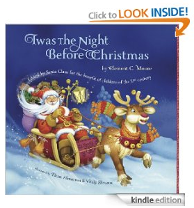christmas1 Free Kindle Book: Twas The Night Before Christmas