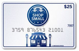 fed ex card FedEx Giveaway: FREE $25 American Express Shop Small Gift Cards