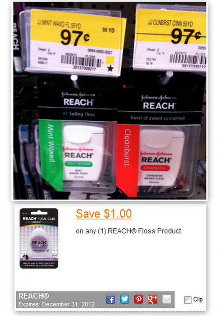 floss 709x1024 FREE Reach Floss with New Printable Coupon at Walmart