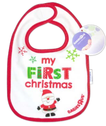 free bib Free Babys First Christmas Bib at Babies or Toys R Us (no purchase required)