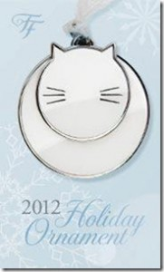holiday ornament 181x300 FREE Fancy Feast Ornament at 12 PM EST