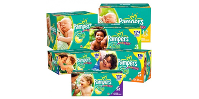 New $2 Off Pampers Coupons = $6.49 at King Soopers