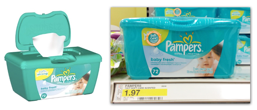 pampers Pampers Baby Wipes Just 47¢ After Coupon Stack at Target