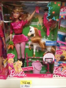 photo125 225x300 Walmart: Barbie I Can Be a Pony Trainer for $9.88
