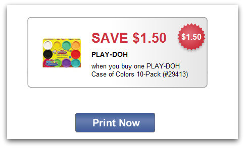 playdoh Play Doh Case of Colors Printable Coupon + Target Deal