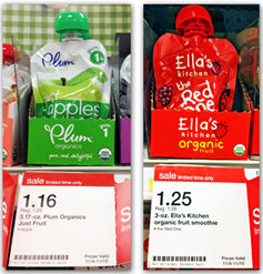 plum Ellas Kitchen and Plum Organics Pouch Deals at Target