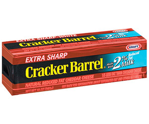 picture regarding Cracker Barrel Coupons Printable identify Higher Charge $1/1 Cracker Barrel Cheese Printable Discount coupons