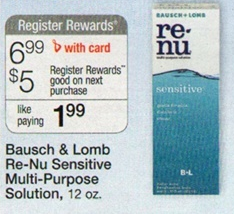 renu fresh Walgreens deal