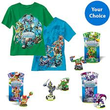 skylander Skylander Graphic Tee and Character Bundle Plus More Character Packs