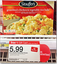 stoufers Stouffers Family Size Entree Just $1.99 at Target