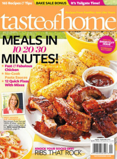 taste Taste of Home Magazine Subscription Just $3.99! (Today only)