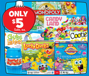 toys Toys R Us: Hasbro Games for 42¢ After Gift Card and Rebate (Great Donation Items)
