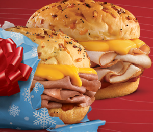 Arbys 300x260 Buy One, Get One Beef N Cheddar or Turkey N Cheddar Sandwich at Arbys + More Restaurant Deals