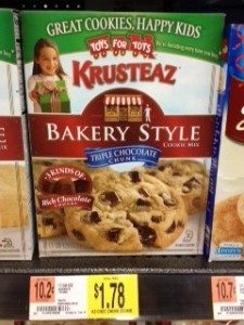 Krusteaz Cookies Walmart e1355238373418 225x300 Krusteaz Bakery Style Cookie Mix For 78¢ at Walmart