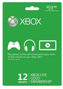 Screen Shot 2012 12 07 at 11.49.51 AM 213x300 Xbox 360 Live 12 Month Gold Subscription Card $35 Shipped