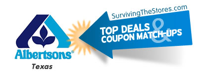 albertsons texas coupon match ups for the week of 121912 122512 Albertson's (TEXAS) Coupon Match ups For The Week Of 12/19/12 – 12/25/12!