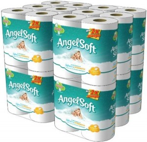 angelsoft 300x289 Angel Soft Bath Tissue   48 Double Rolls Just 21¢ Per Single Roll