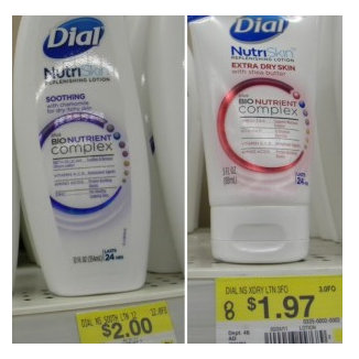 dial New $1.50 Dial Lotion Printble Coupon = As Low As $0.47 at Walmart