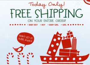 free ship 300x216 FREE Shipping at Carters and OshKosh BGosh (today only)